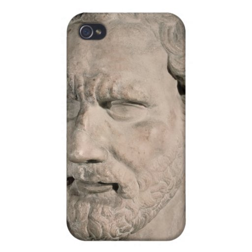 Bust of Demosthenes Cases For iPhone 4