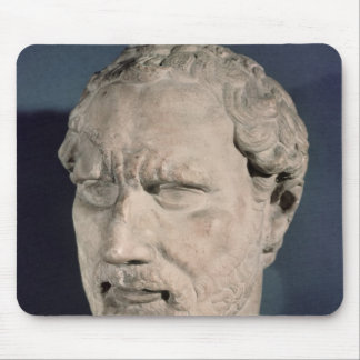 Bust of Demosthenes Mouse Pad