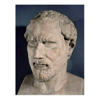 Bust of Demosthenes Postcard