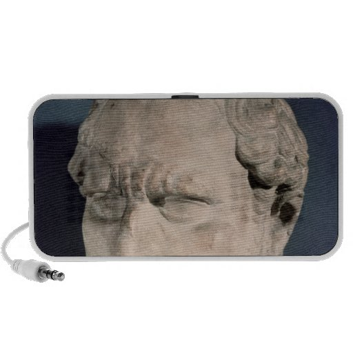 Bust of Demosthenes Portable Speakers