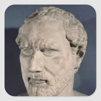 Bust of Demosthenes Stickers