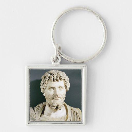 Bust of Emperor Septimus Severus Key Chain