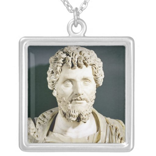 Bust of Emperor Septimus Severus Custom Necklace
