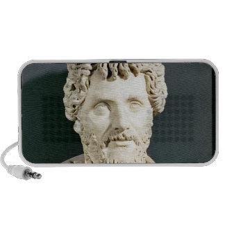Bust of Emperor Septimus Severus Portable Speakers