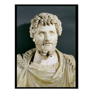 Bust of Emperor Septimus Severus Poster