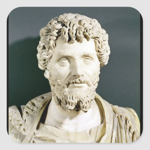 Bust of Emperor Septimus Severus Sticker