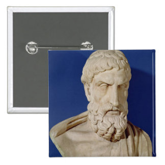 Bust of Epicurus Pin