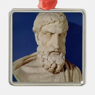 Bust of Epicurus Christmas Ornament