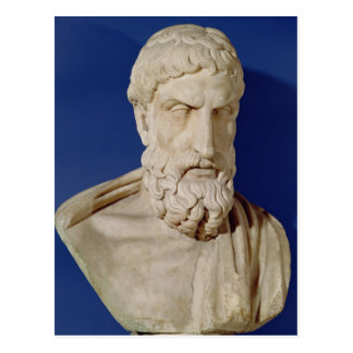 Bust of Epicurus Postcard