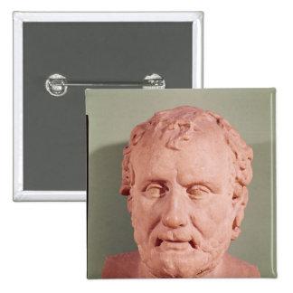 Bust of Eschinus, c.480-476 BC 15 Cm Square Badge