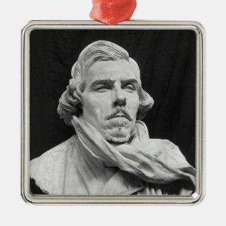 Bust of Eugene Delacroix Christmas Ornament
