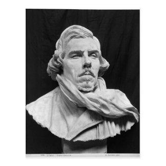 Bust of Eugene Delacroix Postcard