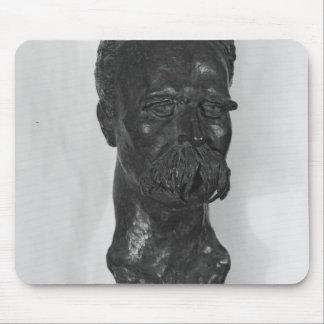 Bust of Friedrich Nietzsche  German Mouse Pad