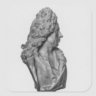 Bust of Gerard Audran Square Sticker