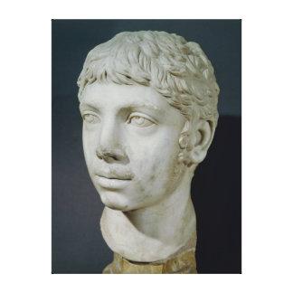 Bust of Heliogabalus Canvas Prints