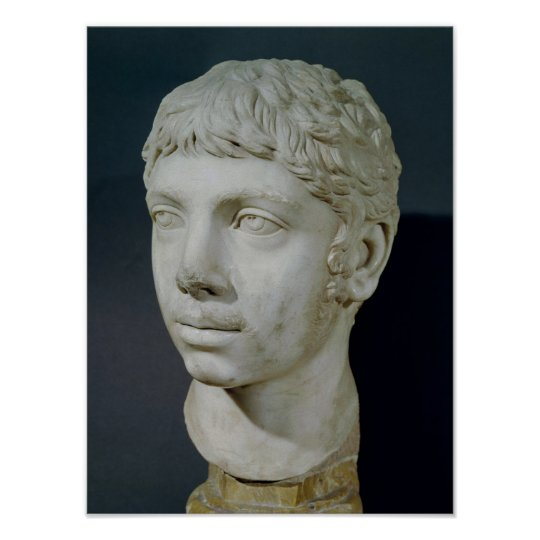 Bust of Heliogabalus Poster