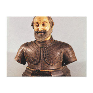 Bust of Henri IV Canvas Print