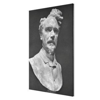 Bust of Henri Rochefort Canvas Print