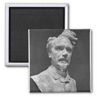 Bust of Henri Rochefort Refrigerator Magnet