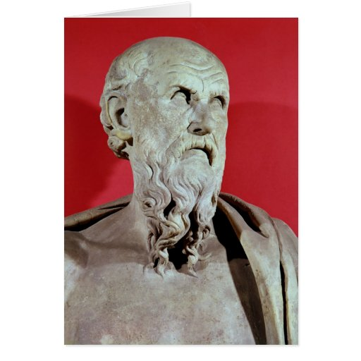Bust of Hesiod Cards