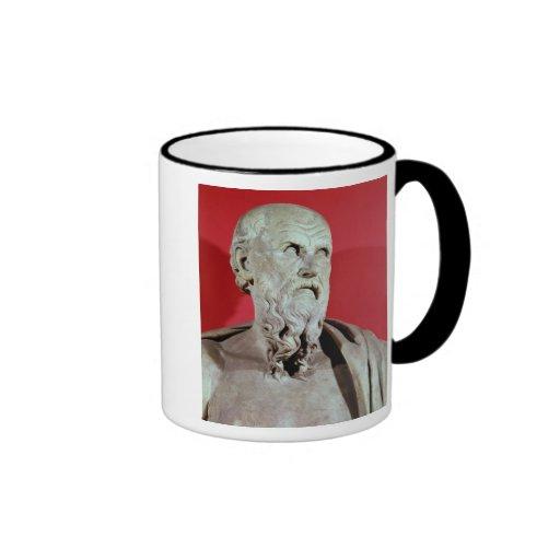 Bust of Hesiod Mugs