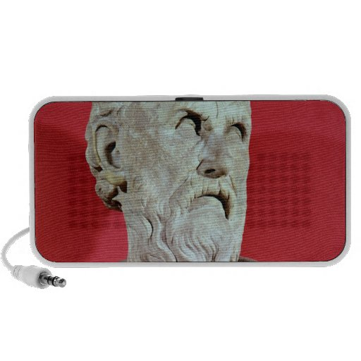 Bust of Hesiod Mini Speakers