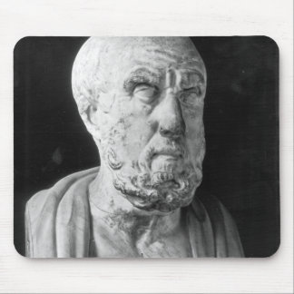 Bust of Hippocrates Mouse Mat