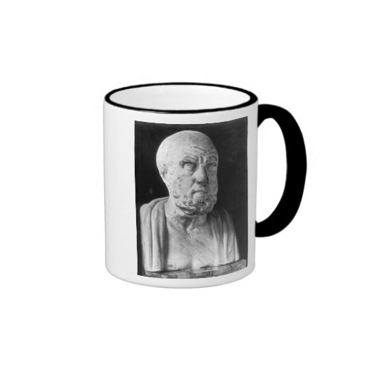 Bust of Hippocrates Mugs