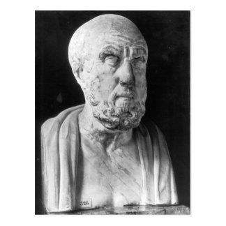 Bust of Hippocrates Postcard