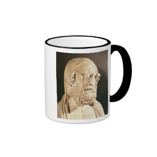 Bust of Homer, Hellenistic period Coffee Mugs