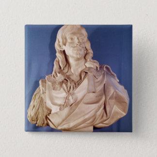 Bust of Jean de Rotrou  1783 15 Cm Square Badge