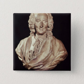Bust of Jean-Philippe Rameau  1760 15 Cm Square Badge