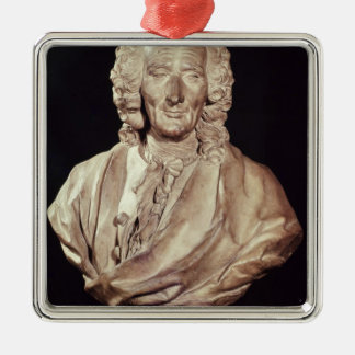 Bust of Jean-Philippe Rameau  1760 Silver-Colored Square Decoration