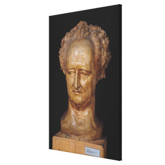 Bust of Johann Wolfgang von Goethe , 1831 Gallery Wrap Canvas