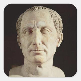 Bust of Julius Caesar 2 Square Sticker