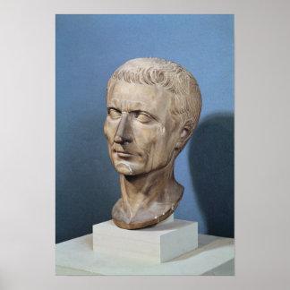 Bust of Julius Caesar Posters