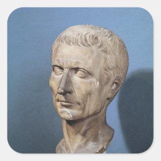 Bust of Julius Caesar Square Sticker