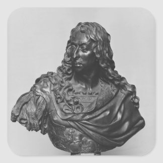 Bust of Louis II Prince of Bourbon Square Sticker