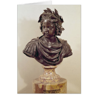 Bust of Louis XIV  as a child Card