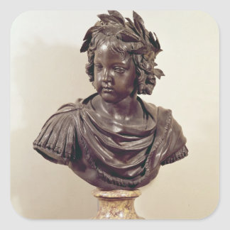 Bust of Louis XIV  as a child Square Sticker