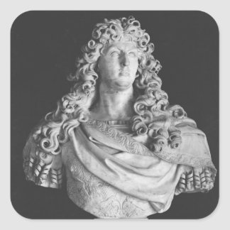 Bust of Louis XIV  c.1678-81 Square Sticker
