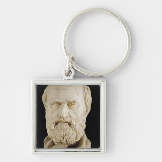 Bust of Lysias Key Ring
