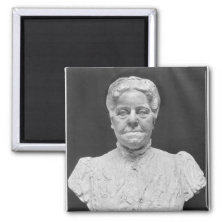 Bust of Madame Marie Laurent Square Magnet