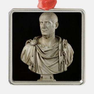 Bust of Marcus Claudius Tacitus Christmas Ornament