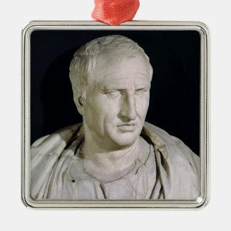 Bust of Marcus Tullius Cicero Christmas Ornament