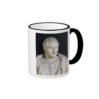 Bust of Marcus Tullius Cicero Ringer Coffee Mug