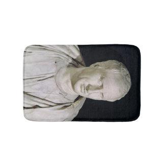 Bust of Marcus Tullius Cicero Bath Mats