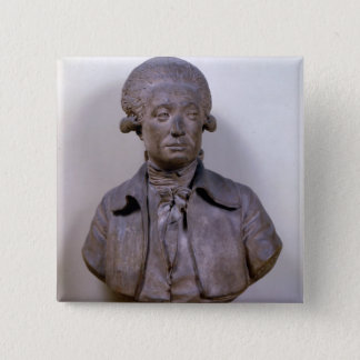 Bust of Marie Jean Antoine Nicolas 15 Cm Square Badge