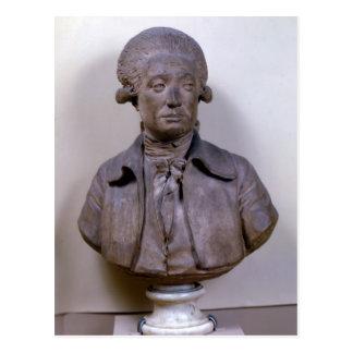 Bust of Marie Jean Antoine Nicolas Postcard
