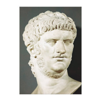 Bust of Nero Canvas Print
